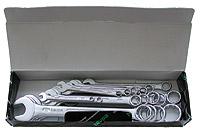 [Hp-110252] Набор гаечных ключей с кольцом/зевом, 16 шт.*